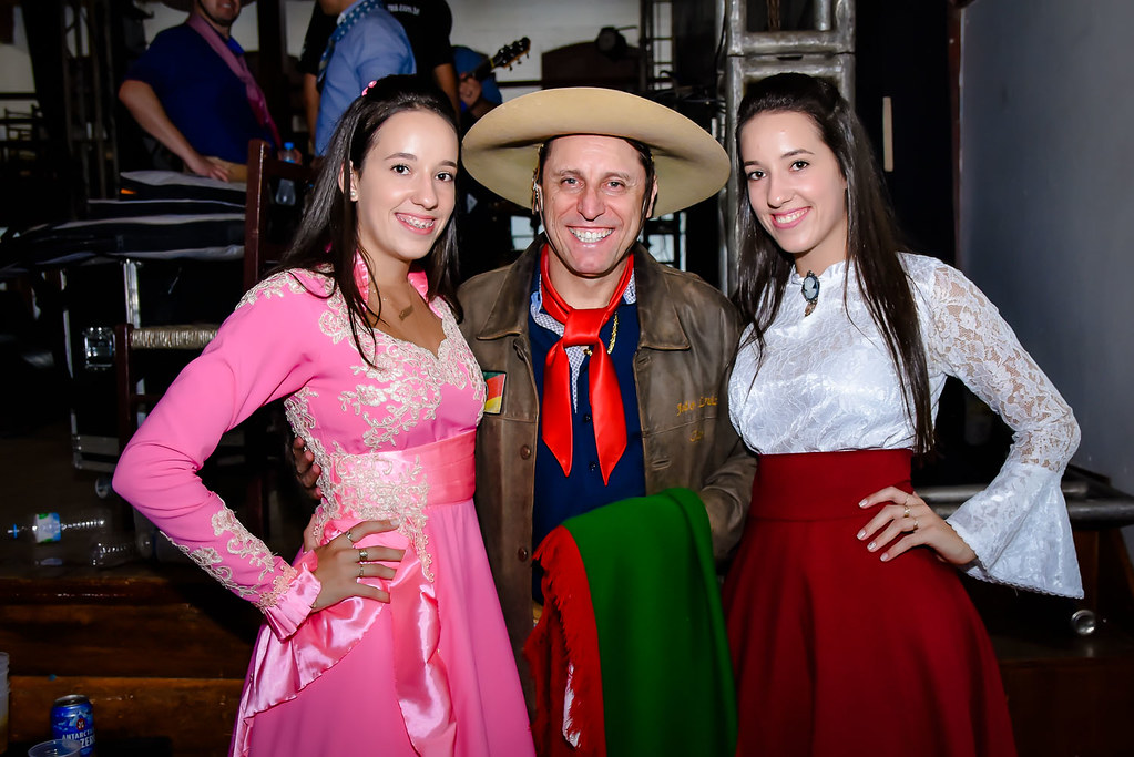 Prefeito de Fontoura Xavier participa de comemorações juninas