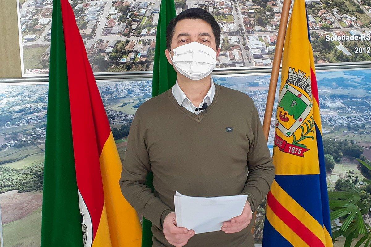 Prefeito Titular de volta ao executivo do município de Mormaço