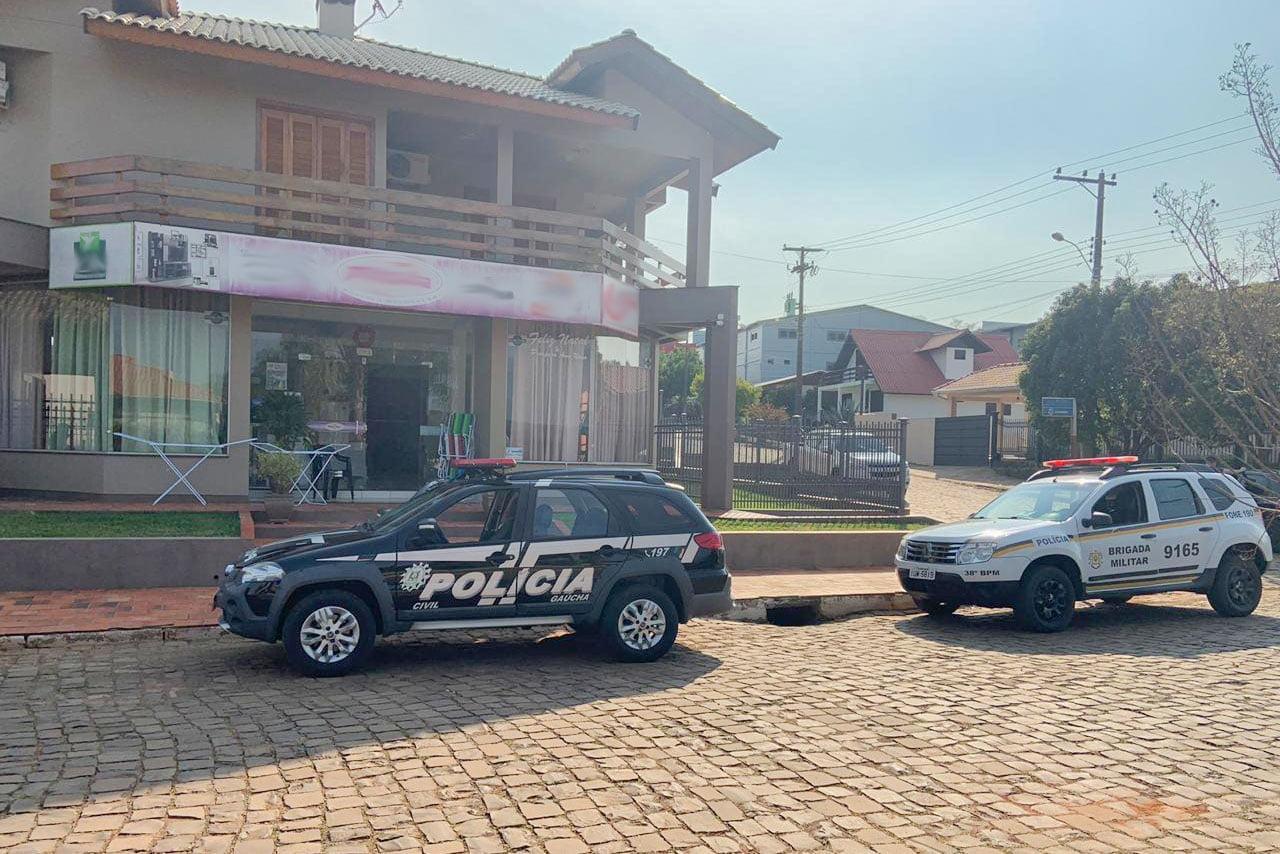 Criminosos arrombam agência do Banco do Brasil em Ilópolis