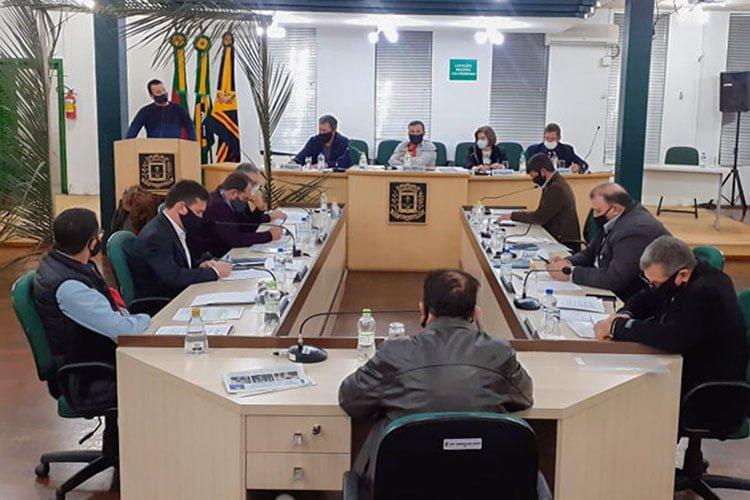 Resumo sessão legislativa Câmara de Soledade dia 07/07