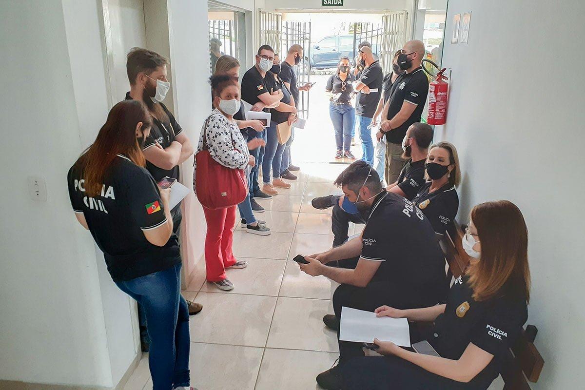 PC e BM combatem o tráfico de drogas e furto em São José do Herval