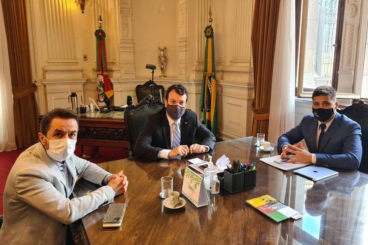 Governador Eduardo Leite é convidado para Exposol 2019 - Feira Internacional